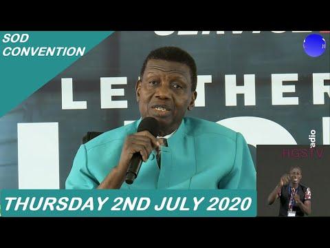 PASTOR E.A ADEBOYE PRAYER  RCCG SOD CONVENTION 2020