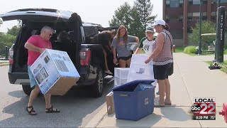 Delays likely during UVM move in day