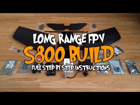 🛩️ Long range S800 - Detailed step by step build and Inav setup - UCN1gpm5NrbxMFFglrCnGsjg