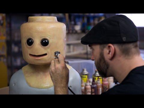 Painting the Realistic LEGO Cosplay Mask! - UCiDJtJKMICpb9B1qf7qjEOA