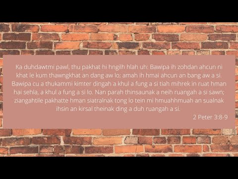 DEVOTION NI (36) NAK  PATHIAN CU A KHULFUNG LO