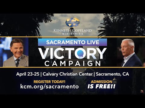 Victory Is Coming to Sacramento April 23-25, 2020!