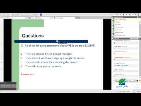 PMP   Aldarayn Academy   Lecture 12