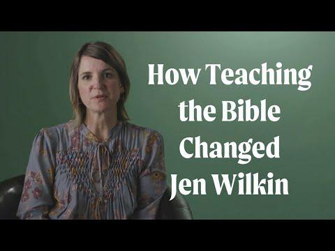 How Teaching the Bible Changed Jen Wilkin