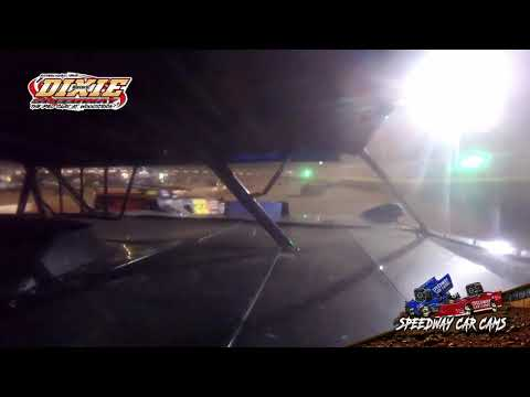 #43 Garrett Loyd - Dixie Speedway 5-1-21 - 602 Sportsman - In-Car Camera - dirt track racing video image