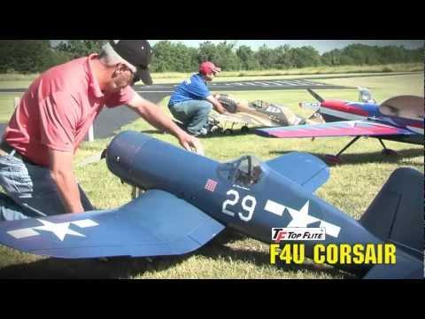Top Flite® Giant Scale F4U Corsair Gas ARF - hobbico