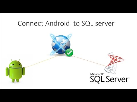Connect Android to SQL server الأتصال بقواعد البيانات على خادم | android دورة اندرويد 34