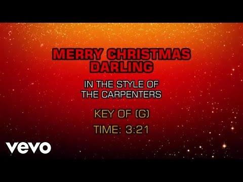 Carpenters - Merry Christmas Darling (Karaoke) - UCQHthJbbEt6osR39NsST13g