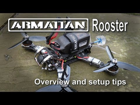 "Armattan Rooster 5"" FPV Quadcopter Overview and Setup Tips - UCp1vASX-fg959vRc1xowqpw"