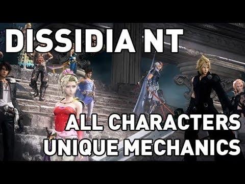 Dissidia NT: All Characters Unique Mechanics - UCALEd8FzfaUt-HBBZctO9cg