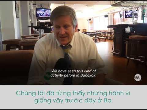 Vị trí cuối cùng của nhà báo Trương Duy Nhất ở Thái Lan