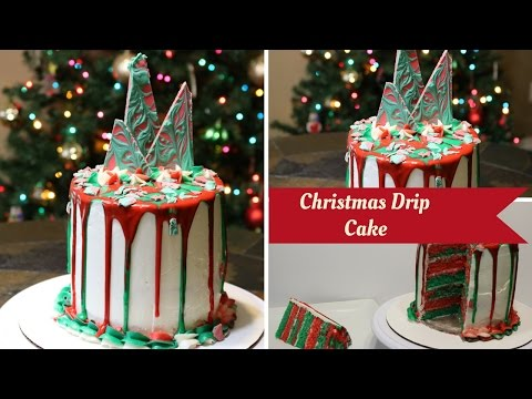 Christmas Theme Drip Cake by 6 Cakes and More - UCD6MoFQzokyavhmvGKONlCA