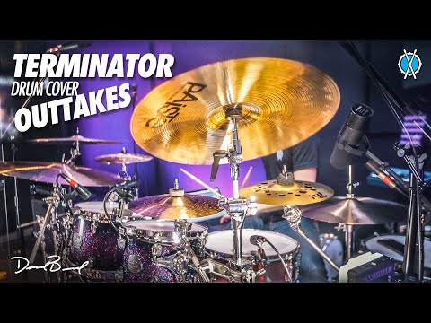 Terminator Drum Cover Outtakes! // Drum Vlog