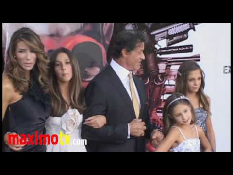 "Sylvester Stallone and Family at ""The Expendables"" Premiere - UCybF_bgvjVTAPIm8HT-TNdQ"