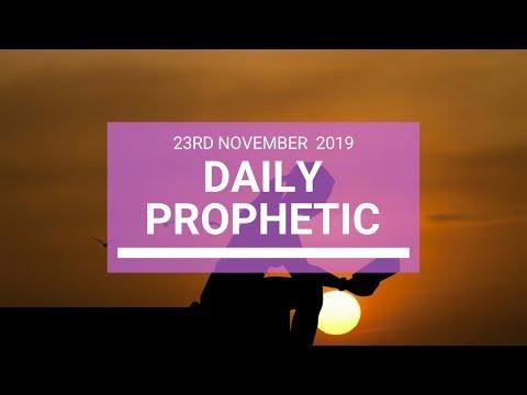 Daily Prophetic 23 November Word 4