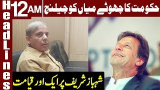 PTI Government Challenged Shahbaz Sharif | Headlines 12 AM | 16 July 2019 | Express News