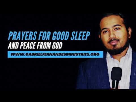 POWERFUL PRAYERS FOR GOOD SLEEP AND QUALITY REST BY EVANGELIST GABRIEL FERNANDES