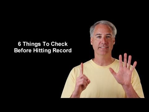 6 Things To Check Before Hitting the Movie Record Button On Your DSLR - UCpPnsOUPkWcukhWUVcTJvnA