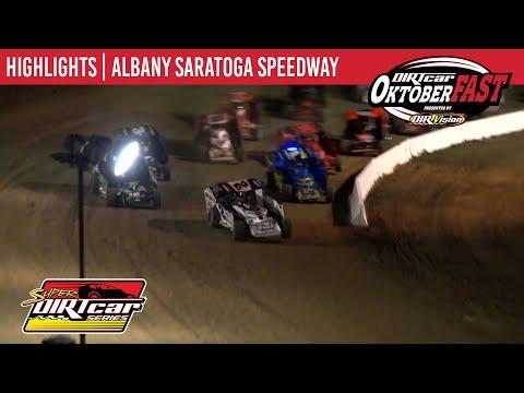 Super DIRTcar Series Big Block Modifieds Albany Saratoga Speedway October 6, 2020 | HIGHLIGHTS - dirt track racing video image