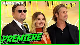 ONCE UPON A TIME IN HOLLYWOOD - London Premiere | Cast, Director & Producers Interviews