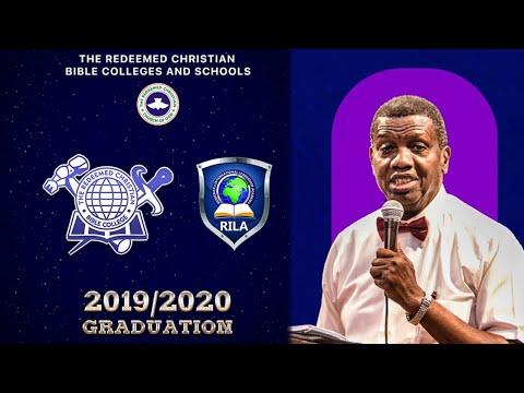 REDEEMED CHRISTIAN BIBLE COLLEGE  2019/2020 GRADUATION