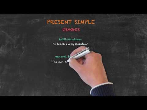 Overview of All English Tenses - Present Tenses - Present Simple Usages