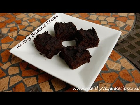 Healthy Vegan Black Bean Brownie Recipe