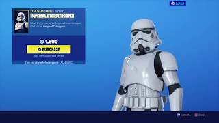 New Imperial Stormtrooper Skin Fortnite X Star Wars