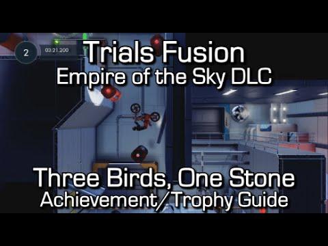 Trials Fusion - Three Birds, One Stone Achievement/Trophy Guide - Empire of the Sky DLC - UCZojkqUeuaZyAQc8KaBNrJw