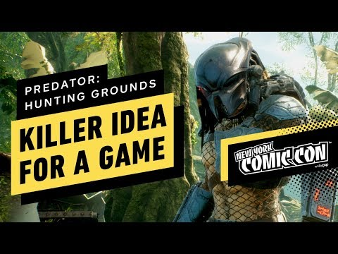 Predator: Hunting Grounds Is A Killer Idea For A Game - NYCC 2019 - UCKy1dAqELo0zrOtPkf0eTMw