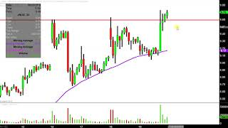 Direxion Daily Junior Gold Miners Index Bull 3X Shares - JNUG Stock Chart Technical Analysis for 06-