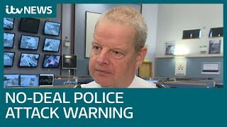 No-deal Brexit could increase attacks on Northern Ireland police, top officer warns | ITV News