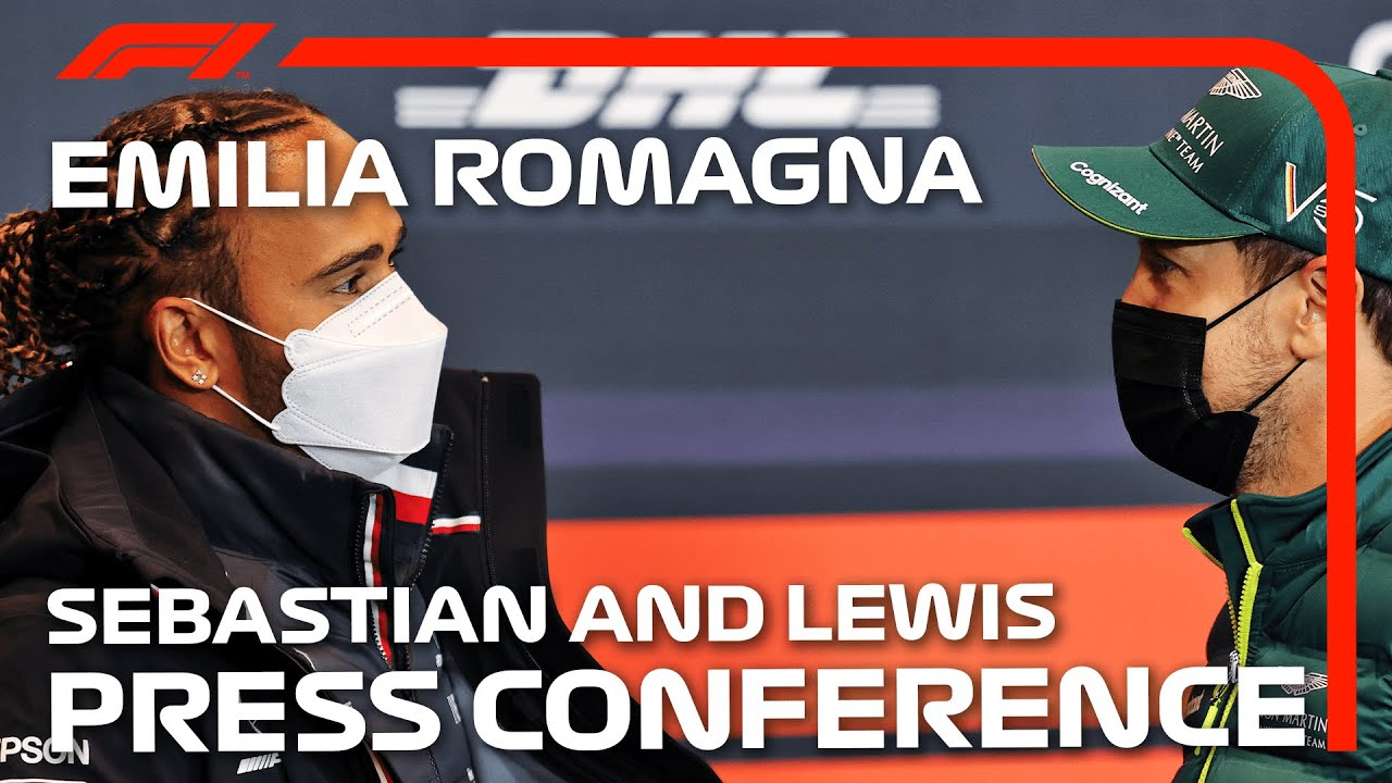 Lewis Hamilton And Sebastian Vettel: Driver Press Conference | Emilia Romagna Grand Prix