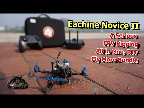 Eachine Novice 2 FPV Racing Drone RTF Fly More Combo - UCsFctXdFnbeoKpLefdEloEQ
