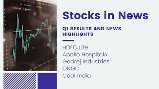 Stocks in News: HDFC Life, Apollo Hospitals, ONGC, Coal India |14-Aug-2019|STT