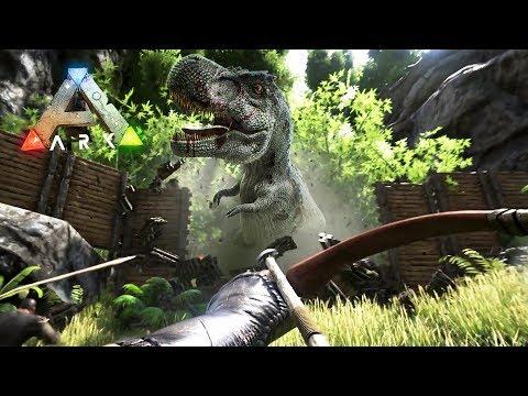 ARK: Survival Evolved - BUILDING OUR BASE!! (ARK Ragnarok Gameplay) - UC2wKfjlioOCLP4xQMOWNcgg