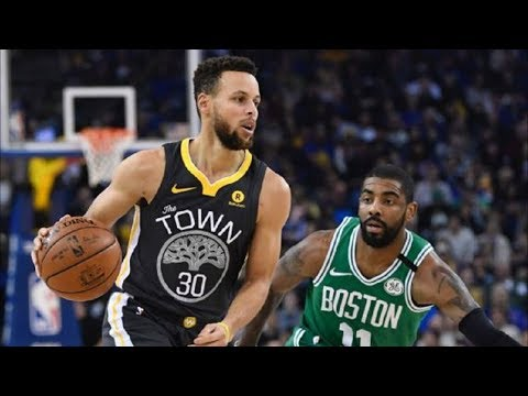 Stephen Curry 49 Points vs Kyrie Irving 37 Points! Celtics vs Warriors 2017-18 Season - default