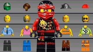 LEGO NINJAGO Build New Helicopter, Monster Trucks, Cars - LEGO Juniors Create & Cruise Kids Games