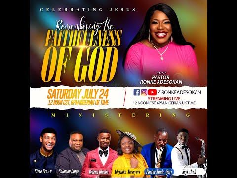 Celebrating Jesus 2021.... Hosted by Pastor Ronke Adesokan