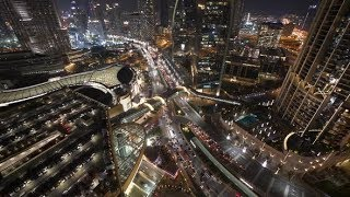 Urban Roads Streets in Hectic Busy City District | Stock Footage - Videohive