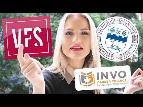 Onde estudar no Canadá? Vancouver Film School | Invo College | FDU