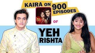 Mohsin Aka Kartik And Shivangi Aka Naira On 900 Episodes Of Yeh Rishta Kya Kehlata Hai