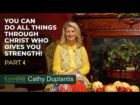 Voice of the Covenant Bible Study, April 2020 Week 4  Cathy Duplantis