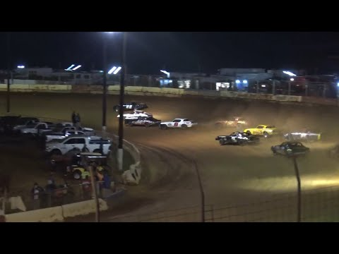 Pure Stock at Cherokee Speedway October 2nd 2021 - dirt track racing video image