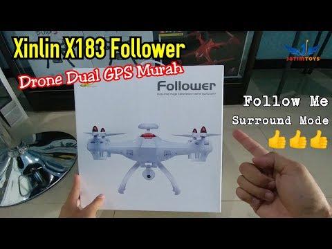 Xinlin X183 Drone Dual GPS Murah dengan Fitur Lengkap - UC2yd9HMejsg7p2cGS2t2x8A