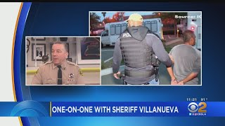 'Keep Your Doors Shut, Ask For A Warrant': Sheriff Villanueva Speaks Out Against ICE Raids