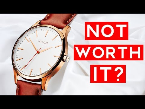 Why I HATE MVMT Watches! (& Similar Brands) | Why They Aren't Worth The Money For Most Guys - UCnlmMaH14N0dJeU0bW2KPXg