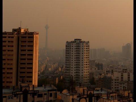 Breaking 1,500 People Hospital In Iran Air Pollution