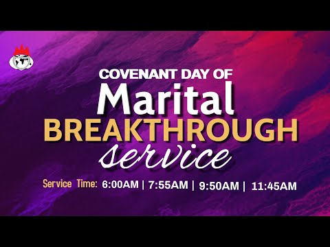 DOMI STREAM: COVENANT DAY OF MARITAL BREAKTHROUGH SERVICE  18, JULY 2021  FAITH TABERNACLE