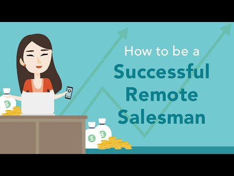 How to Succeed as a Remote Sales Person  Brian Tracy